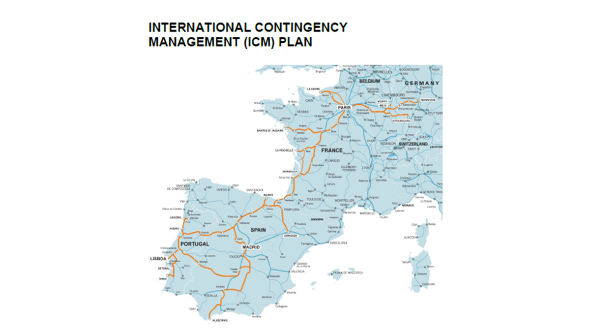 International Contingency Management (ICM) Plan - Rerouting Itineraries for the Atlantic Corridor